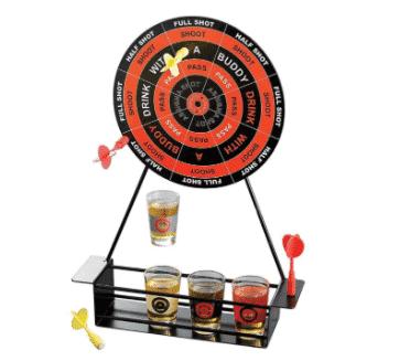 darts mini drinking game